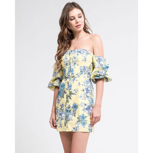 Women's Floral Off-The-Shoulder Dress