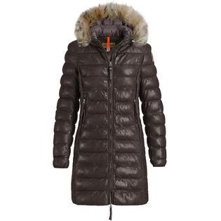 Manteau En Cuir Demi Pour Femmes
