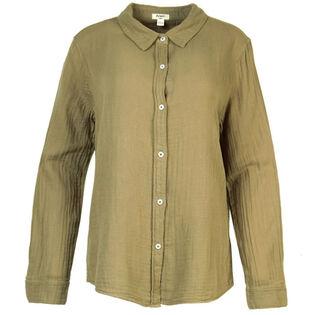 Women's Crinkle Gauze Shirt