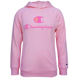 Junior Girls' [7-16] Script Logo Fleece Hoodie