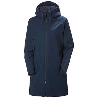 Women's Mono Material Raincoat