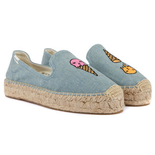 Women's Ice Cream Platform Smoking Slipper