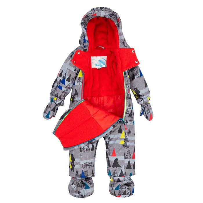 Baby Boys' 6-24M Forest Exploration One-Piece Snowsuit ...