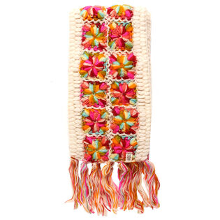 Women's Flower Crochet Scarf