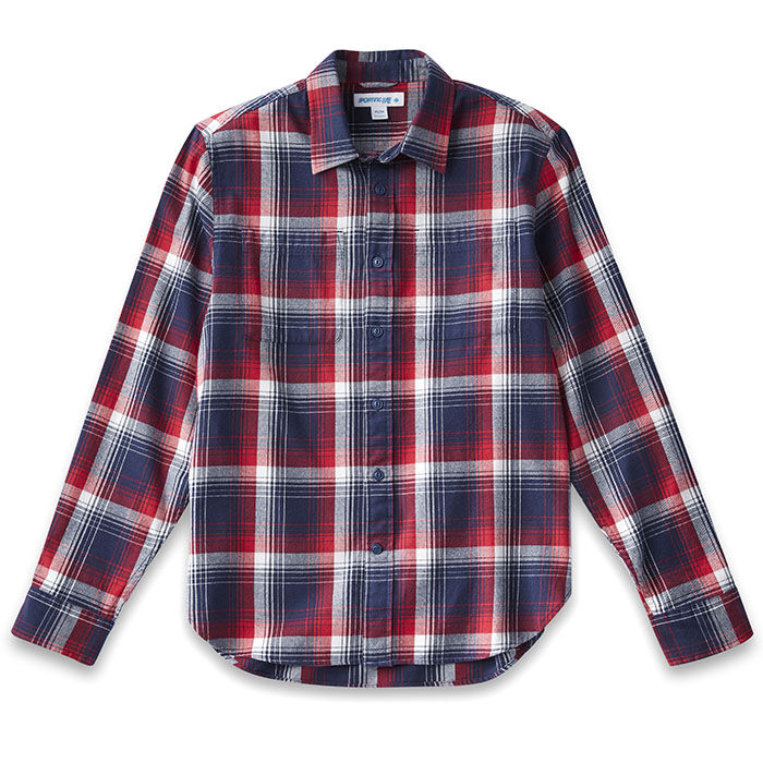 Men's Perfect Check Flannel Shirt