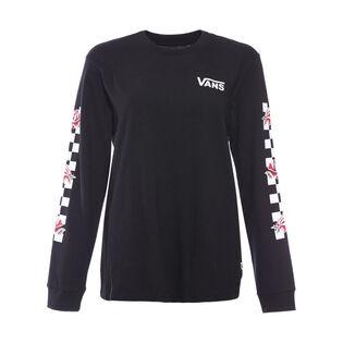Women's Patchwork Floral T-Shirt