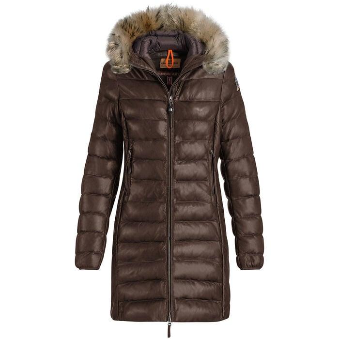 Women's Demi Leather Coat