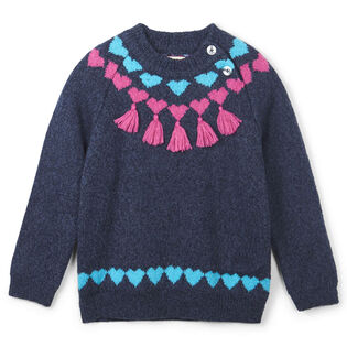 Girls' [2-6] Pretty Winter Sweater