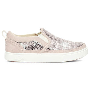 Kids' [13-4] Caplan Sequin Stars Slip-On Sneaker