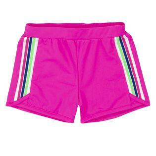 Girls' [3-6] Sport Stripe Short