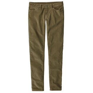 Women's Fitted Corduroy Pant
