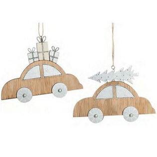 Wood Car Ornament