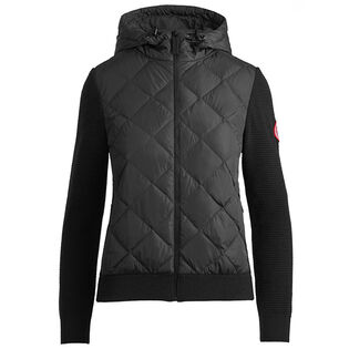 Women's Hybridge Quilted Knit Hoodie