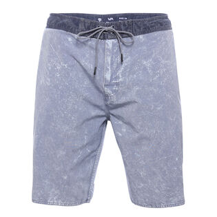 Men's Crushed Washed Swim Trunk