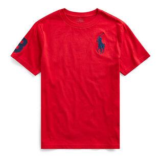 T-shirt en jersey de coton Big Pony pour garçons juniors [8-20]