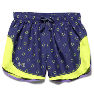 Junior Girls' [7-18] UA Stunner Novelty Short [Europa Purple]