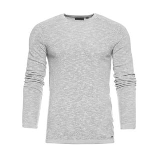Men's Melange Crew Sweater