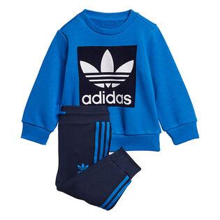 Baby Boys' [6M-3Y] Crew Sweatshirt Two-Piece Set