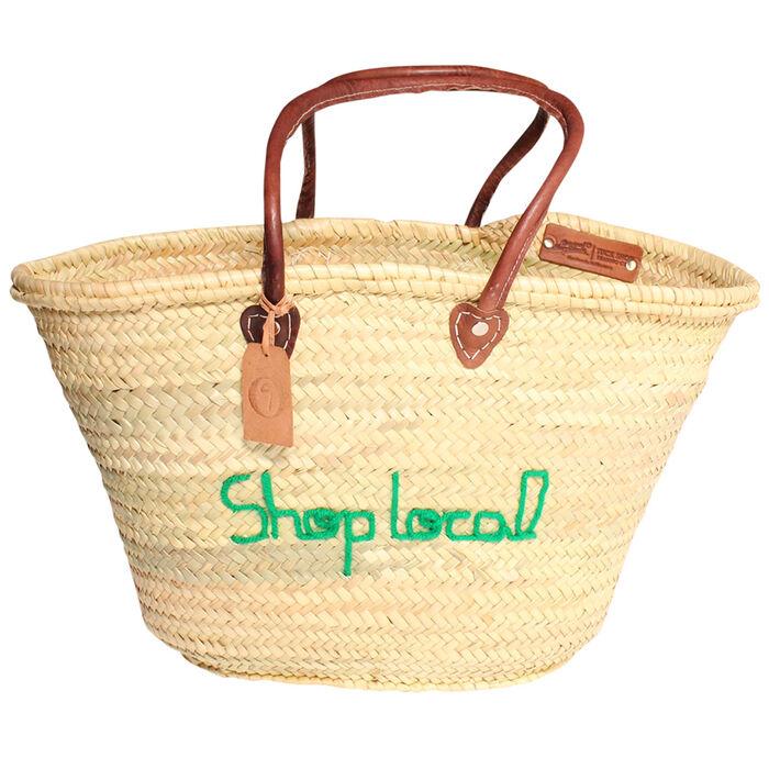Shop Local Cottage Tote Bag