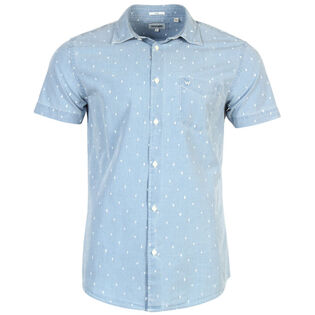Men's Cactus Print Chambray Shirt