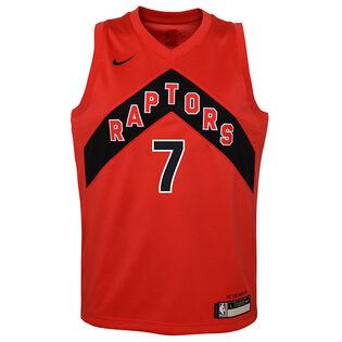 Junior Boys' [8-20] Toronto Raptors Nike Icon Swingman Jersey