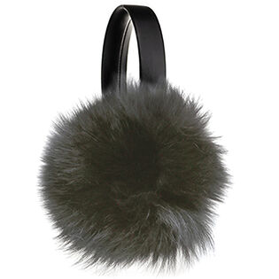 Women's Recycled Fur Earmuff