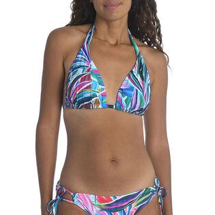 Women's Palm Opulence Halter Bikini Top