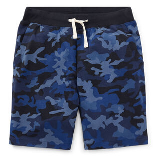 Junior Boys' [8-20] Camo Cotton Jersey Short