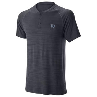 Men's Competition Seamless Henley T-Shirt