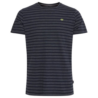 Men's Double Stripe Crew T-Shirt