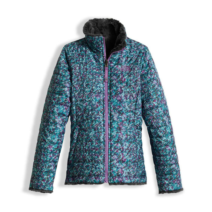 Junior Girls' [7-20] Reversible Mossbud Swirl Jacket