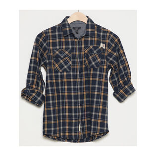 Junior Boys' [8-16] Pocket Plaid Shirt