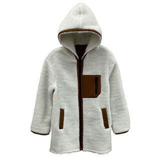 Women's Hooded Sherpa Jacket
