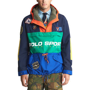 Men's Polo Sport Pullover Jacket