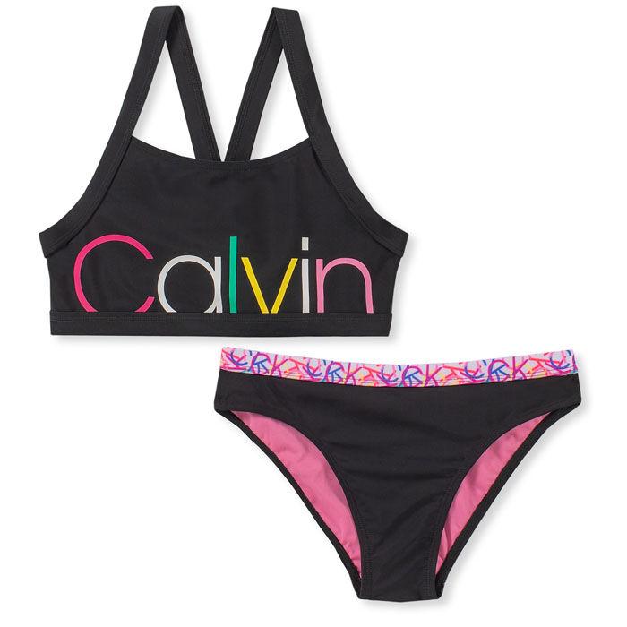 Bikini à logos multiples pour filles juniors [8-16]