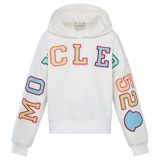 Junior Girls' [8-14] Block Logo Hoodie