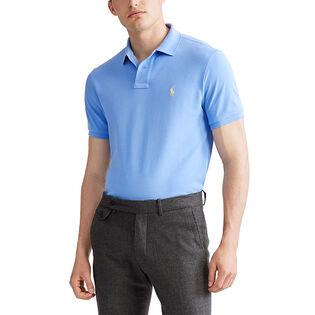 Men's Custom Fit Mesh Polo