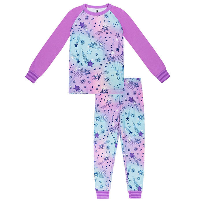 Girls' [4-6X] Cosmic Two-Piece Pajama Set