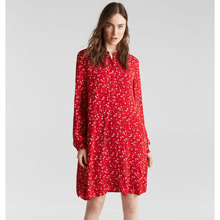 Women's Scattered Floral Dress