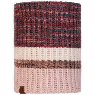 Cache-cou en tricot et polaire Alina Blossom