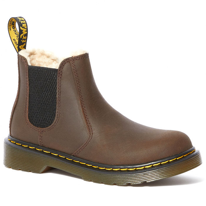 Juniors' [12-4] Fur-Lined 2976 Leonore Chelsea Boot