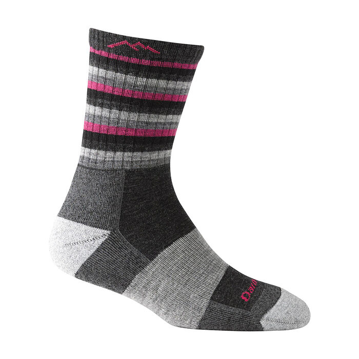 Women's Micro Crew Cushion Stripe Sock