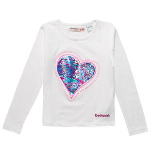 Girls' [3-6] Heart T-Shirt