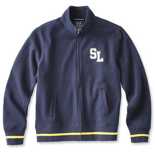 Men's Full-Zip Fleece Track Jacket