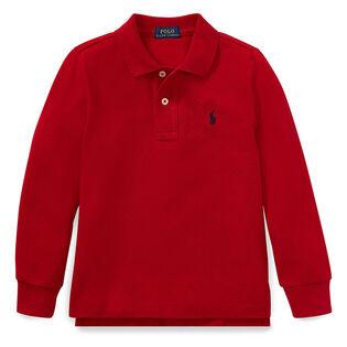Polo en maille de coton pour garçons [5-7]