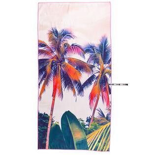 Serviette de plage Sunset Palm