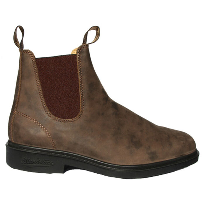 #1306 The Chisel Toe Boot In Rustic Brown