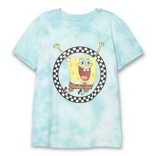Women's SpongeBob Jump Out Crew T-Shirt