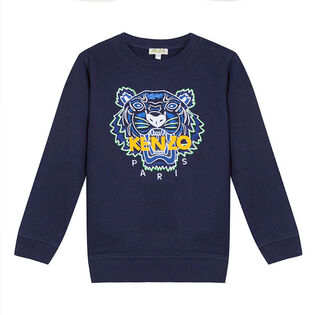 Junior Boys' [8-14] Tiger Crew Sweatshirt