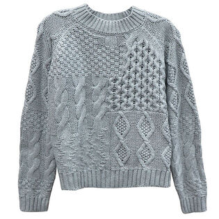 Chandail en tricot mixte pour femmes